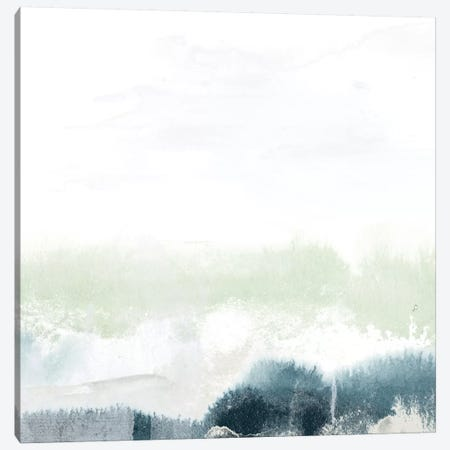 Seafoam Horizon II Canvas Print #JEV222} by June Erica Vess Canvas Art