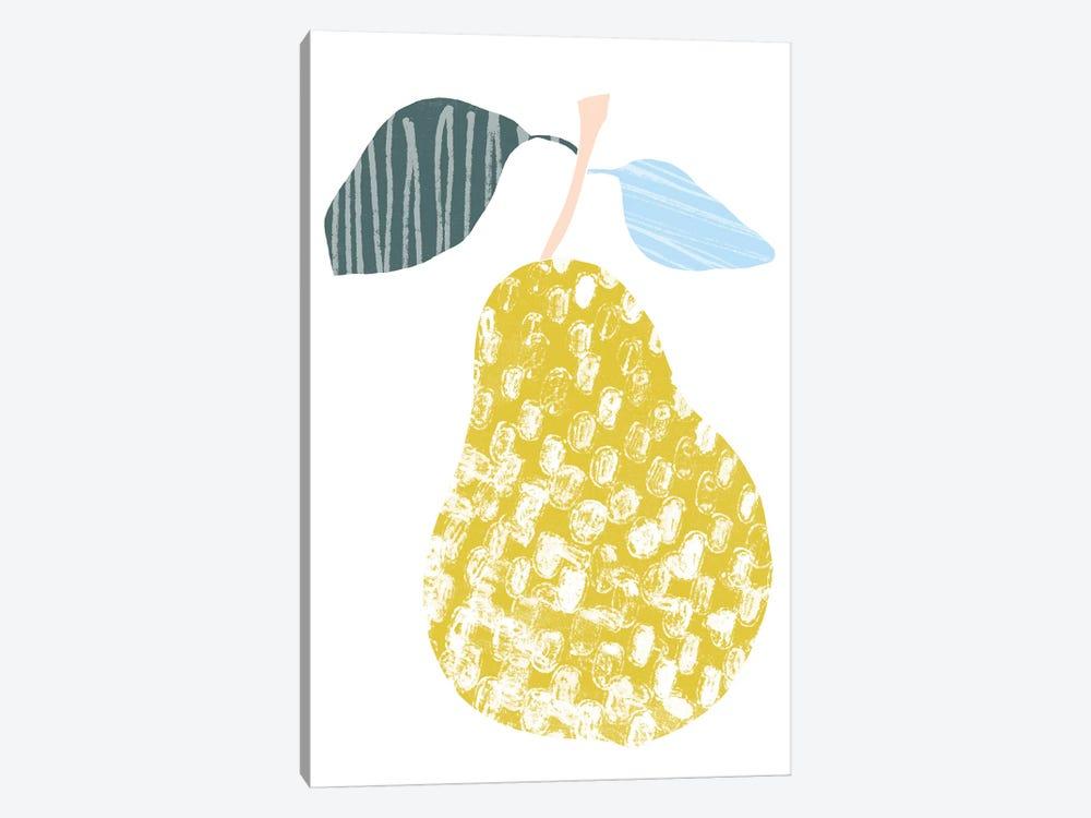 Cut Paper Fruit I by June Erica Vess 1-piece Canvas Artwork
