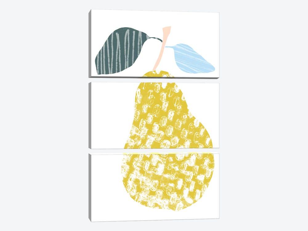 Cut Paper Fruit I by June Erica Vess 3-piece Canvas Wall Art