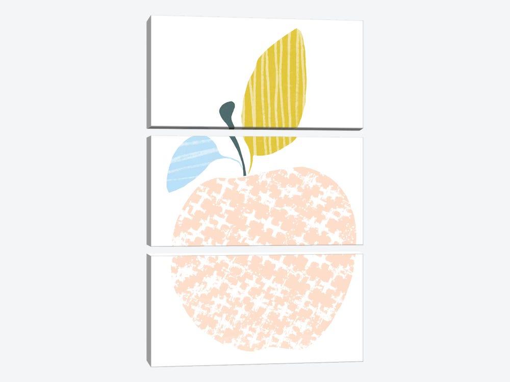 Cut Paper Fruit III by June Erica Vess 3-piece Canvas Wall Art