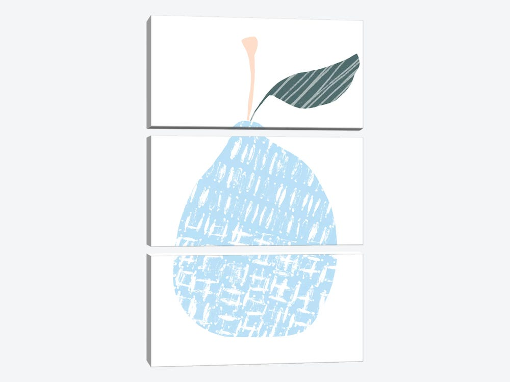 Cut Paper Fruit IV by June Erica Vess 3-piece Art Print