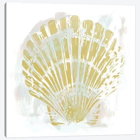 Seaside Blockprints I Canvas Print #JEV223} by June Erica Vess Canvas Art