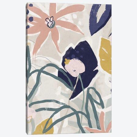 Garden Jumble II Canvas Print #JEV2252} by June Erica Vess Canvas Wall Art