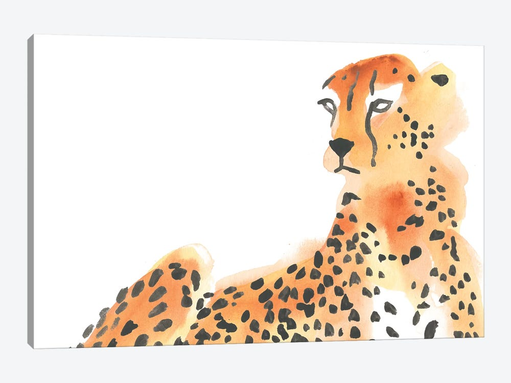 Majestic Cheetah I by June Erica Vess 1-piece Canvas Print
