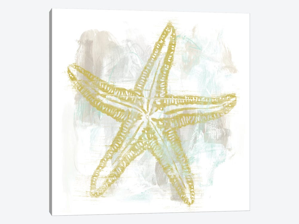 Seaside Blockprints IV by June Erica Vess 1-piece Art Print
