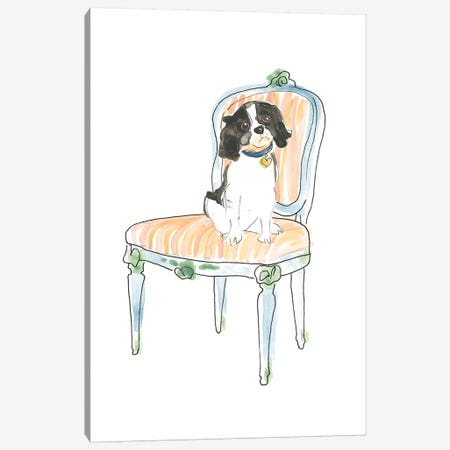 Petite Chien I Canvas Print #JEV2283} by June Erica Vess Canvas Art Print