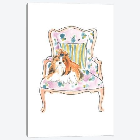 Petite Chien II Canvas Print #JEV2284} by June Erica Vess Canvas Artwork