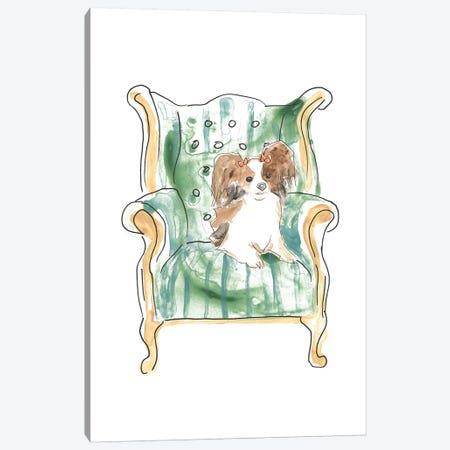 Petite Chien III Canvas Print #JEV2285} by June Erica Vess Canvas Art
