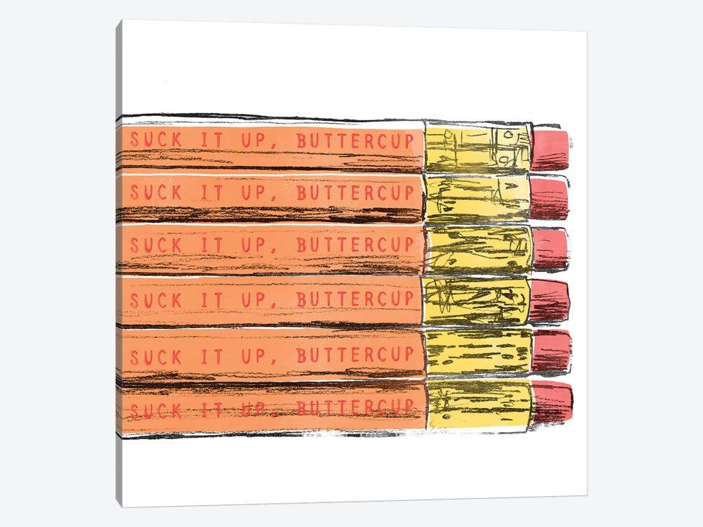 School Days II by June Erica Vess 1-piece Canvas Art Print
