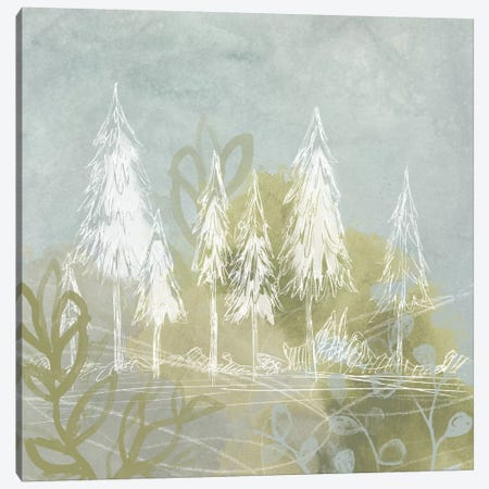 Treeline Collage I Canvas Print #JEV22} by June Erica Vess Canvas Wall Art