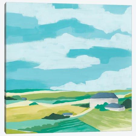 Village Valley II Canvas Print #JEV2319} by June Erica Vess Art Print