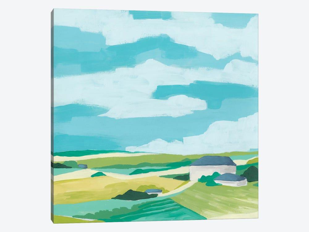 Village Valley II by June Erica Vess 1-piece Canvas Art Print