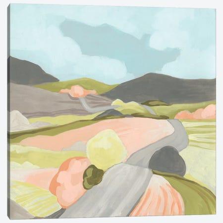 Winding Road II Canvas Print #JEV2329} by June Erica Vess Canvas Artwork