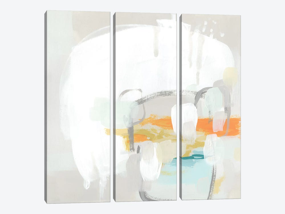 Stereo Fade IV by June Erica Vess 3-piece Canvas Wall Art