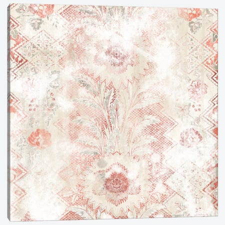 World Traveler Textile I Canvas Print #JEV2330} by June Erica Vess Art Print