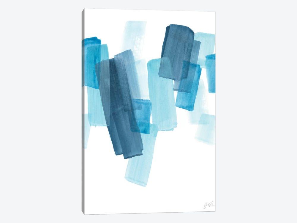 Azure Fragment I by June Erica Vess 1-piece Canvas Wall Art
