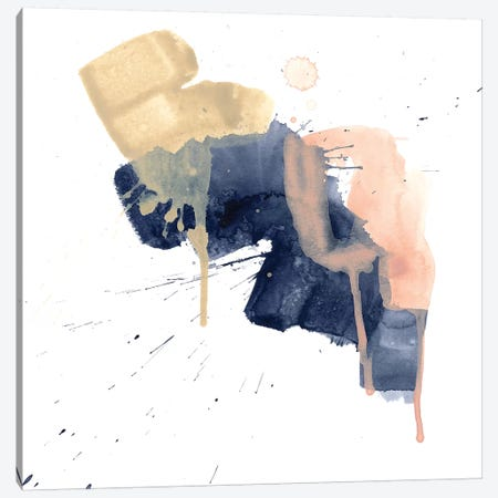 Earthtone Gesture I Canvas Print #JEV2357} by June Erica Vess Canvas Artwork