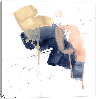 Earthtone Gesture I Canvas Art Print