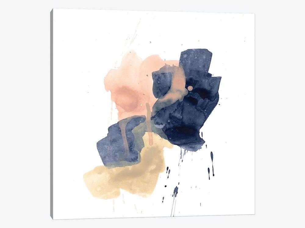 Earthtone Gesture IV by June Erica Vess 1-piece Canvas Art Print