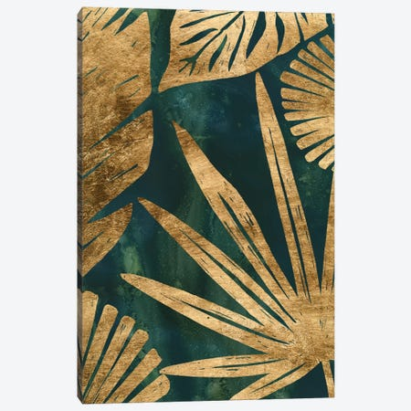 Emerald Jungle I Canvas Print #JEV2361} by June Erica Vess Canvas Art