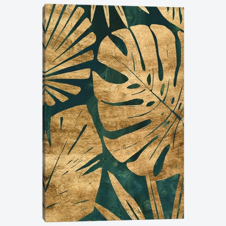 Emerald Jungle III Canvas Print #JEV2363} by June Erica Vess Canvas Wall Art