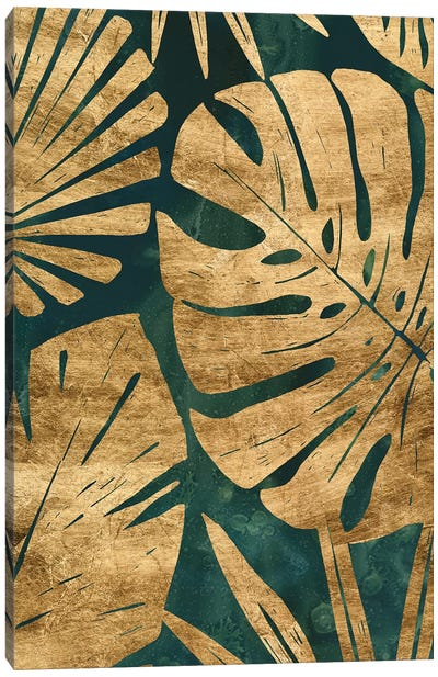Emerald Jungle III Canvas Art Print