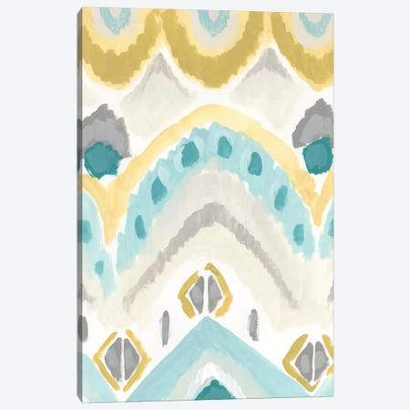 Textile Impression I Canvas Print #JEV237} by June Erica Vess Canvas Artwork