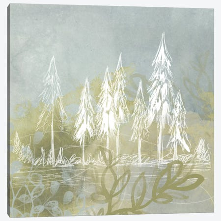 Treeline Collage II Canvas Print #JEV23} by June Erica Vess Canvas Artwork