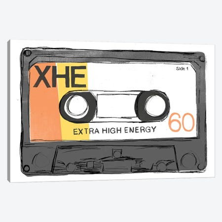 Mix Tape I Canvas Print #JEV2400} by June Erica Vess Canvas Art Print