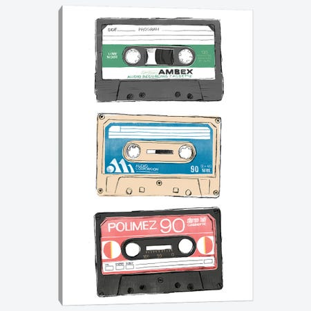 Mix Tape VII Canvas Print #JEV2406} by June Erica Vess Canvas Art