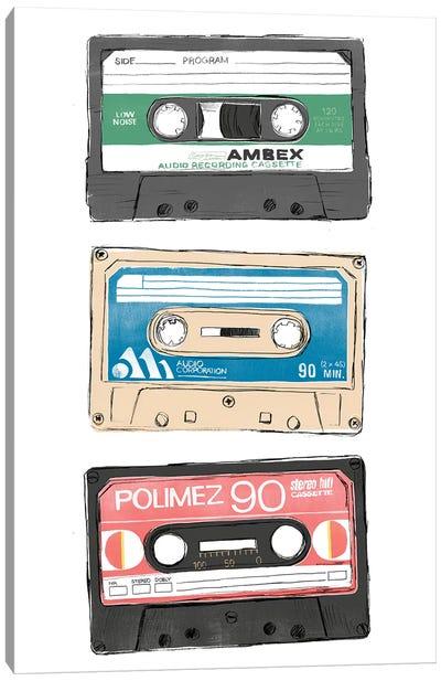 Mix Tape VII Canvas Art Print