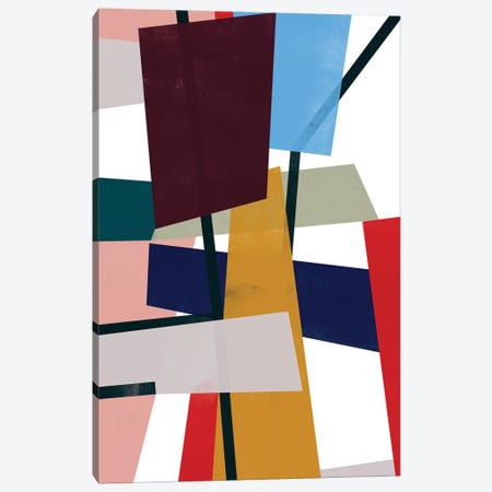 Polygon Mobile I Canvas Print #JEV2418} by June Erica Vess Canvas Artwork