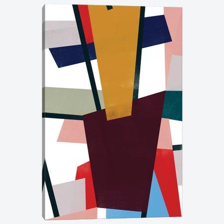 Polygon Mobile II Canvas Print #JEV2419} by June Erica Vess Canvas Artwork