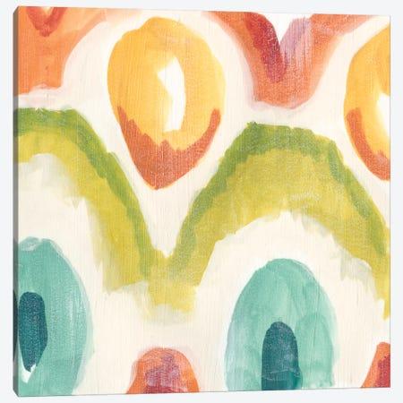 Textile Kaleidoscope III Canvas Print #JEV241} by June Erica Vess Canvas Artwork