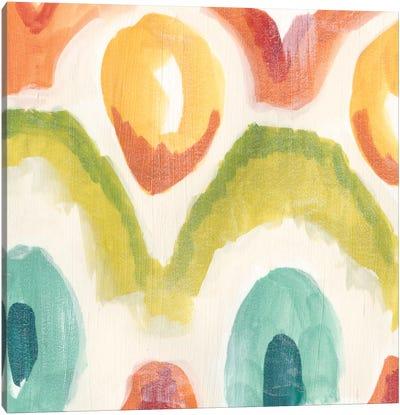 Textile Kaleidoscope III Canvas Art Print