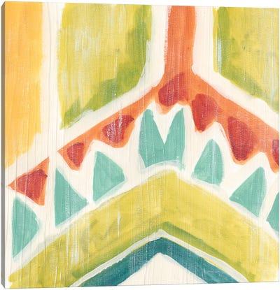 Textile Kaleidoscope IV Canvas Art Print