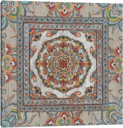 Boho Textile I Canvas Art Print