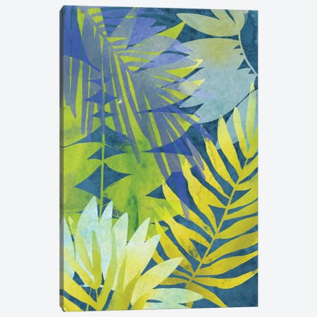 Tropical Indigo I Canvas Print #JEV245} by June Erica Vess Canvas Print
