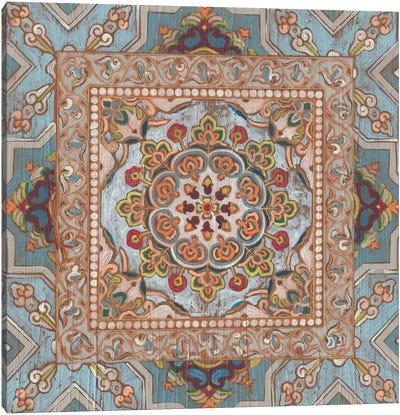 Boho Textile II Canvas Art Print