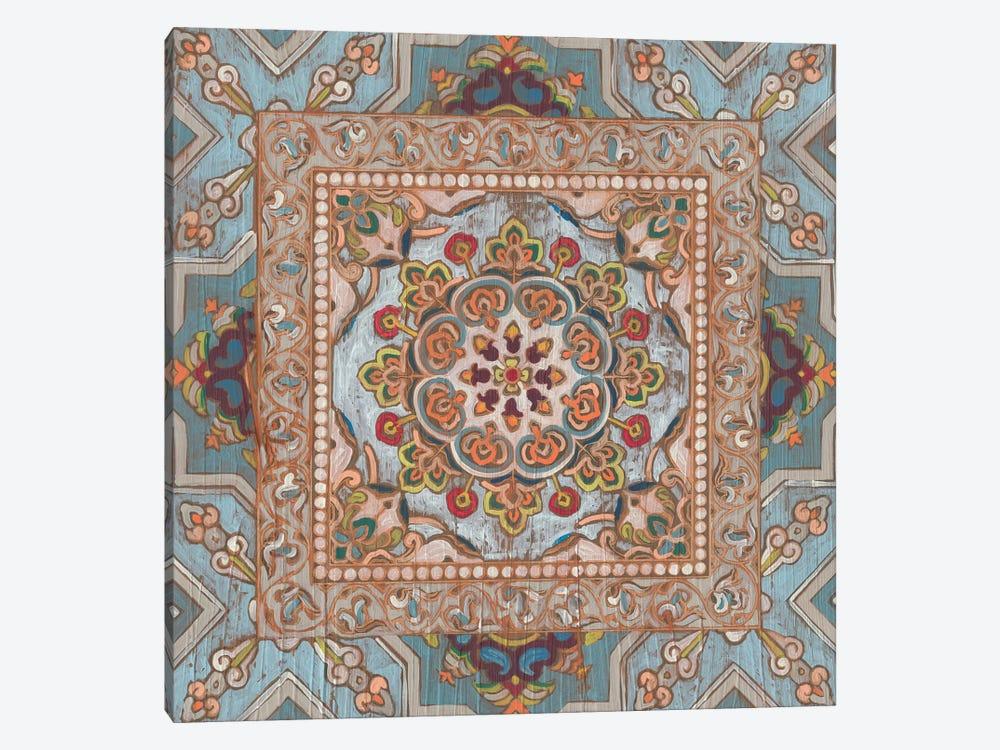 Boho Textile II by June Erica Vess 1-piece Canvas Wall Art