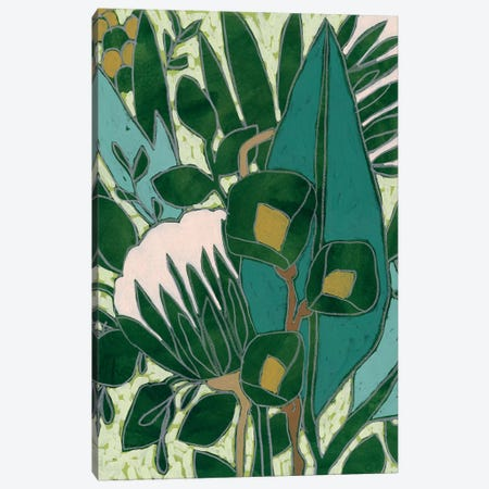 Bottle Glass Garden I Canvas Print #JEV2461} by June Erica Vess Canvas Print