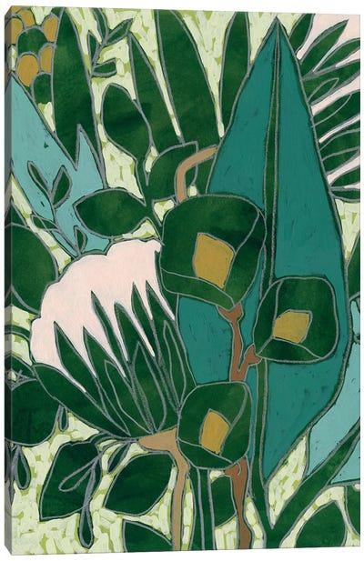 Bottle Glass Garden I Canvas Art Print