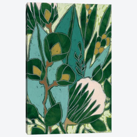 Bottle Glass Garden II Canvas Print #JEV2462} by June Erica Vess Canvas Print