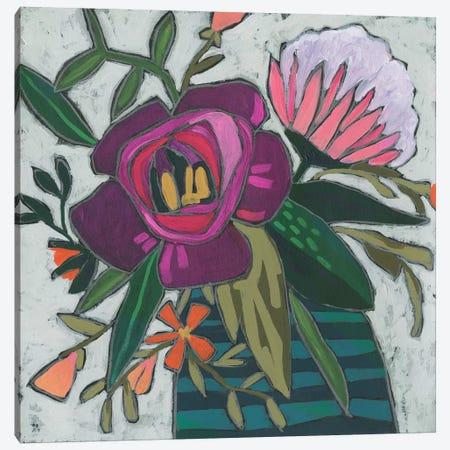Carnivale Flora I Canvas Print #JEV2463} by June Erica Vess Canvas Art Print