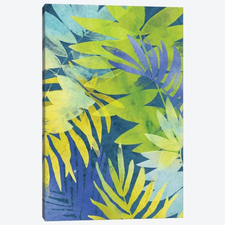 Tropical Indigo II Canvas Print #JEV246} by June Erica Vess Canvas Art Print