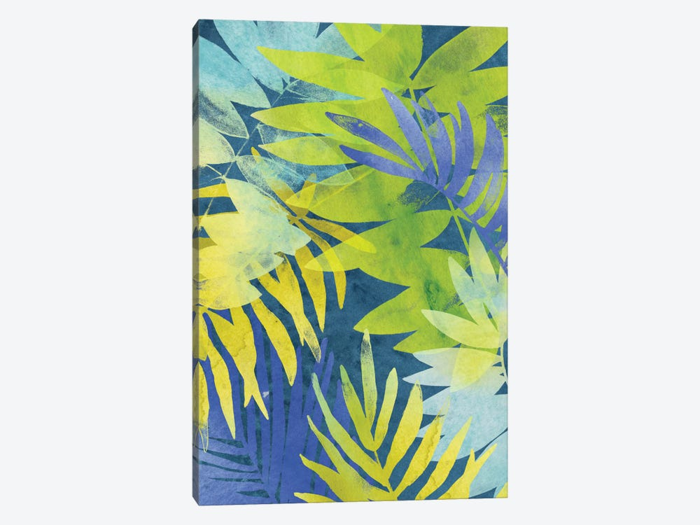 Tropical Indigo II by June Erica Vess 1-piece Canvas Print