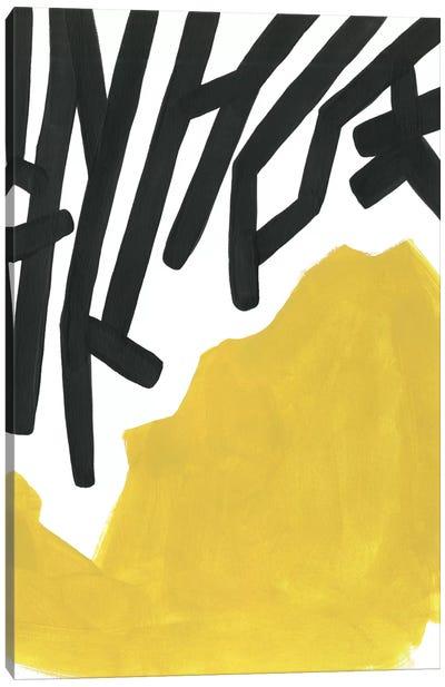 Color Block Maze III Canvas Art Print