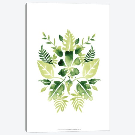 Verdant Vignette I Canvas Print #JEV247} by June Erica Vess Canvas Print