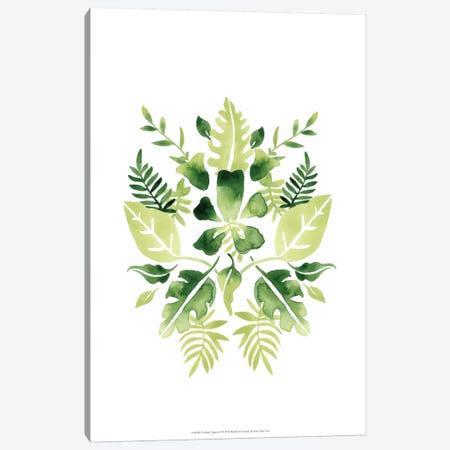 Verdant Vignette I Canvas Print #JEV247} by June Erica Vess Canvas Print