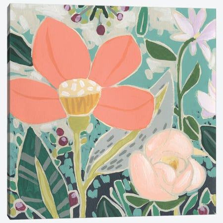 Garden Confetti II Canvas Print #JEV2485} by June Erica Vess Canvas Wall Art